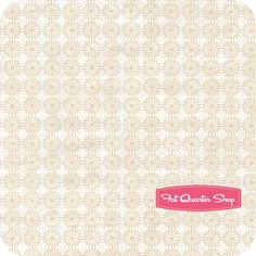 Creamery Neutrals 6 Beige Star Flowers Yardage SKU# 7858-44 - Fat Quarter Shop