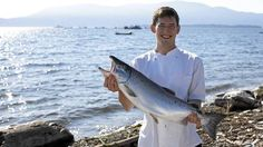 """Blaine Wetzel uses the bounty of Puget Sound in his kitchen"", Globe and Mail. l Blaine Wetzel - The Willows Inn l"