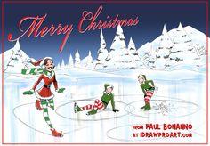 Christmas 2016 Christmas 2016, Storytelling, Drawings, Illustration, Movie Posters, Art, Art Background, Film Poster, Kunst