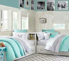 I love the colors and the way the beds are made, but I would want full size beds.