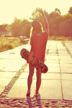 backlight sun, hot pants, hat, girl cool