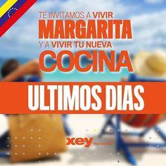 Qué estás esperando? Ya empiezan las #Vacaciones y #Margarita está a una #cocina de distancia. Con la compra de una #CocinaEspañola #HechaALaMedida te #regalamos un fin de semana a la #PerlaDelCaribe con pasaje y estadía incluidos para dos personas. Hasta el 31/07/2017 ven a cualquiera de nuestros #ShowRoom en #Venezuela mira todos nuestros diseños y acabados consulta con nuestros expertos para que te lleves la #CocinaDeTusSueños a un súper precio Quedan pocos días! #ViveTuCocina…