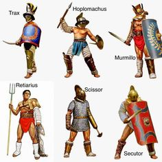 Facts you didn't know about Spartacus and the gladiators Greek Warrior, Fantasy Warrior, Alter Krieger, Medieval Combat, Gladiator Armor, Roman Gladiators, Rome Antique, Ancient Armor, Roman Warriors