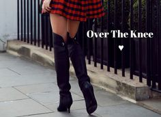 Over The Knee Botas