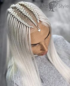 Cool Braid Hairstyles, Bohemian Hairstyles, Mohawk Hairstyles, Bride Hairstyles, Hair Tutorials For Medium Hair, Medium Hair Styles, Instagram Hairstyles, Braids With Curls, Crazy Hair