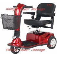 Golden Technologies - Buzzaround XLHD - Travel Scooter - 4-wheel - Red - Walmart.com - Walmart.com 3 Wheel Scooter, Kids Scooter, Rubber Floor Mats, Rubber Flooring, Vermillion Red, Electric Scooter For Kids, Scooters For Sale, 3rd Wheel, Chairs For Sale