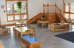 Beautiful toddler classroom