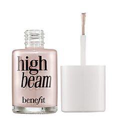High Beam by Benefit...a gorgeous shimmery light pink highlighter. Perfect to put on your cheek bones or any other highlightng areas on your face.