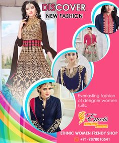Everlasting Fashion Of Designer Women Suits At EWOTS. Share and comment... #Fashion #fashionable #fashionista #divafashion #glomour #suits #designerwear #women #glamour #beauty #gorgeous #womensalwarsuits #salwarsuits #bollywood #style #stylish #trendy