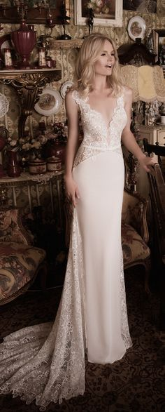 Gorgeous - Naama and Anat Fall Winter Brial Collection Wedding Dresses 2016