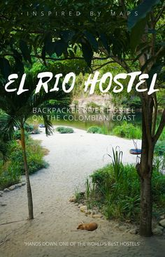 The best hostel in Colombia. A river eco-hostel for relaxing and partying near Palomino and Tayrona National Park. A model for hostels design architecture and serving delicious Colombia food recipes. Easily one of the world's best hostels and should be added to your colombia travel bucket lists. El Rio Hostel Colombia. ☆☆ Travel Guide / Bucket List Ideas Before I Die By #Inspiredbymaps ☆☆
