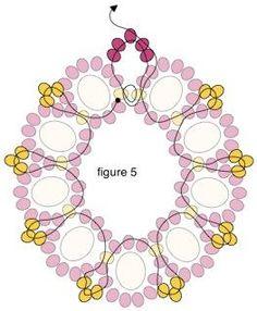 Как сделать круглые серьги | Плетение бисером