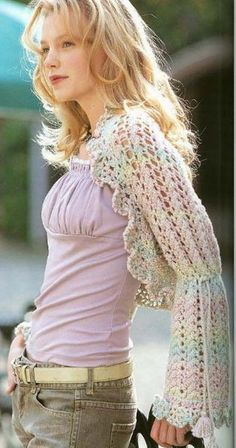 love this shrug - really different