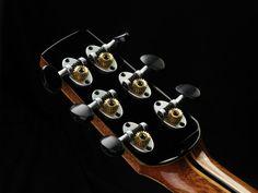 Hatcher Guitars Greta headstock