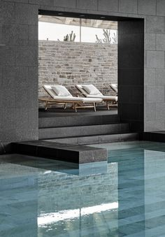 Great Northern spa and golf resort – Kerteminde – Space Copenhagen Hotel Swimming Pool, Swiming Pool, Hotel Pool, Piscina Interior, Spa Interior, Space Copenhagen, Outdoor Spa, Spa Design, Bathroom Spa