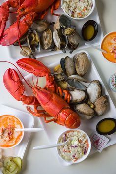 Maine Lobster - Young's Lobster Pound - Belfast, Maine