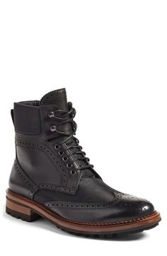 Free shipping and returns on Monte Rosso Santo Wingtip Boot (Men) (Nordstrom Exclusive) at Nordstrom.com. Cool brogue panels punch up a rugged Italian-made boot built from durable ballistic nylon and fitted with an Extralight lug sole for traction and comfort.