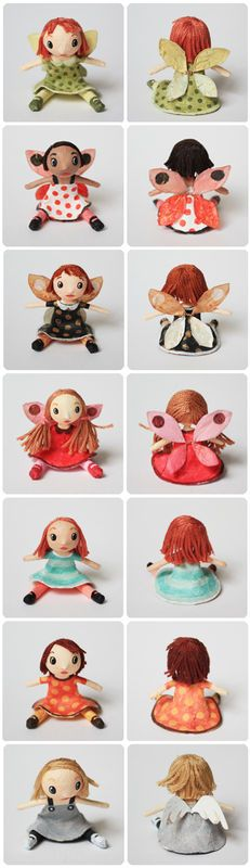 Fairy and angel dolls/great blog! Lots of cute crafts for inspiration!!