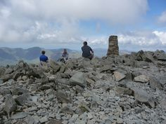 Enjoy being part of nature and listen to the silence on the summit of Scafell Pike