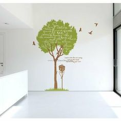 Memory With The Tree Wall Decals