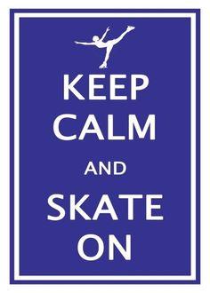 Keep Calm and Go Ice Skating @lheartfood