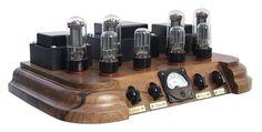 Vacuum tube amplifier Classics of the genre. Radio Design, Speaker Design, Diy Electronics, Electronics Projects, Mc Intosh, Valve Amplifier, Cd Player, Antique Radio, Hifi Audio