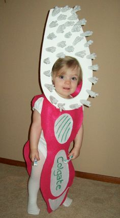 Pink Toddler Toothbrush Costume by BabytoSOBig on Etsy, $38.00 Norman Mills Pediatric Dental Associates, pediatric dentist in Lombard, IL @ www.millskidsdds.com