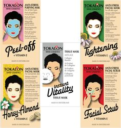 Tokalon – Masques pour le visage Purifying Mask, Anti Stress, Facial Masks, 2013, Collagen, Anti Aging, Cosmetics, How To Make, January