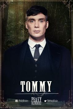 Tommy Shelby, peaky blinders season 3 poster √