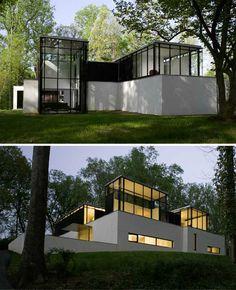BlackWhite Residence /// David Jameson Architect