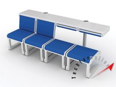 Multi-Purpose Public Seat System for Airports ~ Techformation