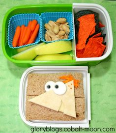 Phineas Bento Lunch