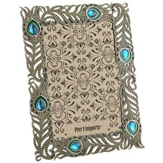 Peacock Feather Frame - 4x6   Pier 1 Imports