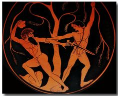 Ancient Greek pottery decoration 147 by Hans Ollermann, via Flickr
