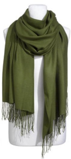 My Green Global Girlfriends scarf.