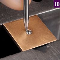 Flush Setting Diamonds Practical Stone Setting, Part 21