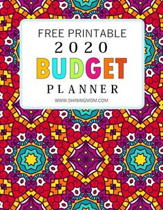 It's time to manage your finances with our 2020 Budget Planner Free Printables! It's a simple planner that will eleminate the budgeting overwhelm. Get yours for free! #budgetbinderprintables #2020 #budgetplanner #planner2020 #budget #shiningmomprintables #freeprintables