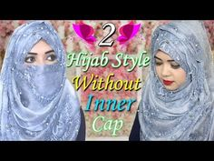 Hijab Tutorial without inner cap with niqab easy hijab Easy Hijab Style, New Hijab Style, Hijab Style Tutorial, Niqab Style, Hair Style Vedio, Niqab Fashion, Bridal Hijab, Stylish Hijab, Hijab Niqab