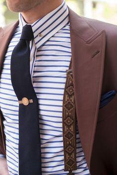 Self patterned shirt for men⋆ Men's Fashion Blog - TheUnstitchd.com