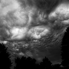 Summer Storm Clouds 003 by noahbw, via Flickr  #bw #nature