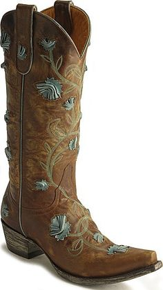Old Gringo Abby Rose Cowboy Boots- Cowgirl Life ☮ Cowboy Boots Women, Cowgirl Boots, Cowboy Hats, Ladies Boots, Cowboy Girl, Western Wear, Western Boots, Western Chic, Turquoise Cowboy Boots