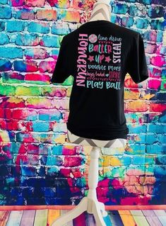 022ee6c6 Excited to share this item from my #etsy shop: Baseball softball watercolor  t shirt