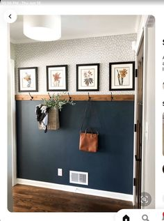 Fall Entryway, Entryway Decor, Foyer, Home Renovation, Home Remodeling, My Dream Home, Home And Living, Living Room, Small Living