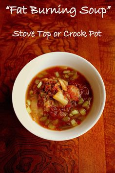 ".. LowCarbCrock.com: Low Carb Crock Pot ""Fat Burning Soup"". I've used a similar recipe with The Cabbage Soup Diet. Glad to have the recipe again, it is a delicious soup!"