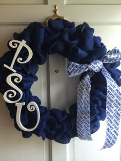 Made this one myself.  If you would like me to make one for you,  contact me at abbysattic423@gmail.com. Cost is $48.00 plus shipping. Wreath should not be exposed to sunlight or it will fade.