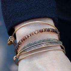 "Alex and Ani Spiritual Armor ""Plume"" Rafaelian Bangle Bracelet"
