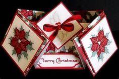 ... cards/double-diamond-fold/christmas-poinsettia-double-diamond-fold
