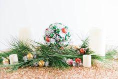 Handmade Mood | A DIY Lindt Truffle Kissing Ball | http://handmademood.com