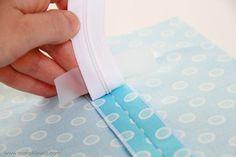Very handy zipper tutorial