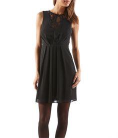 Damska sukienka z koronkowymi wstawkami - ROBE Damski Camaïeu.